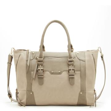 Sole Society Sole Society Susan Large Winged Tote - Taupe