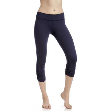 Beyond Yoga Beyond Yoga Essential Gathered Capri Legging - True Navy