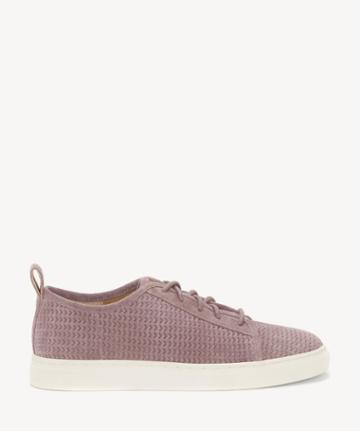 Lucky Brand Lucky Brand Women's Lawove Lace Up Sneakers Berry Smoothie Size 5 Suede From Sole Society