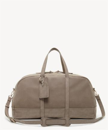 Sole Society Women's Marant Large Weekender In Color: Taupe Bag Vegan Leather From Sole Society