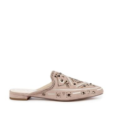 Sole Society Sole Society Peace Jeweled Mule - Dusty Rose-5