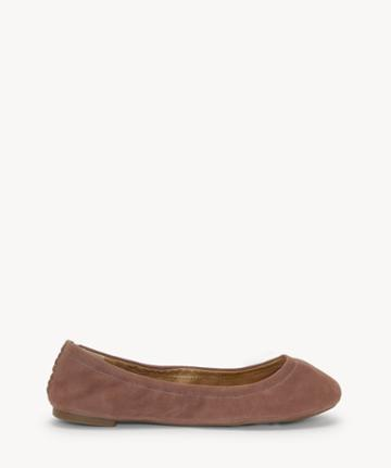 Lucky Brand Lucky Brand Women's Emmie Foldable Ballet Flats Mauve Size 6 Fabric From Sole Society