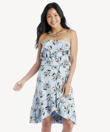 J.o.a. J.o.a. Strapless Dress