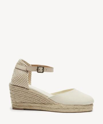 Soludos Soludos Closed-toe Midwedge Wedge