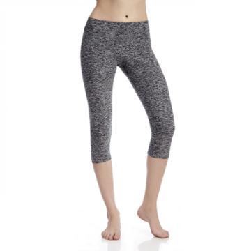 Beyond Yoga Beyond Yoga Spacedye Capri Legging - Black White-medium