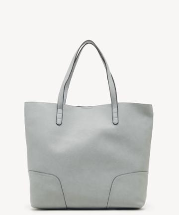 Sole Society Women's Lilyn Tote Vegan Powder Blue Vegan Leather From Sole Society