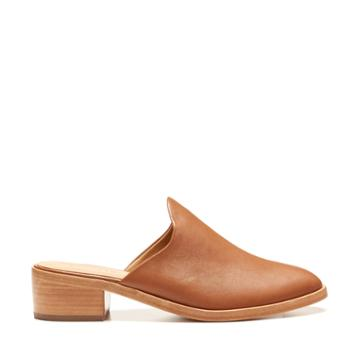 Soludos Soludos Women's Venetian Mules Bootie Tan Size 6 Leather From Sole Society