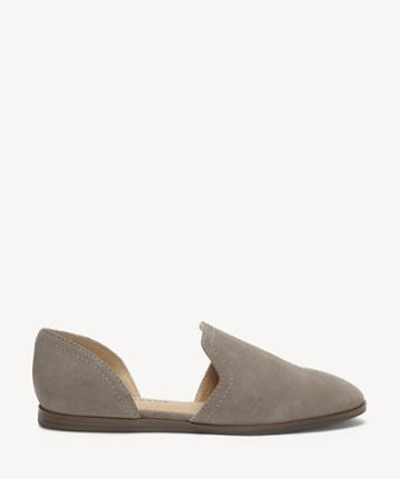 Lucky Brand Lucky Brand Women's Jinree Flats Titanium Size 5 Suede Leather From Sole Society