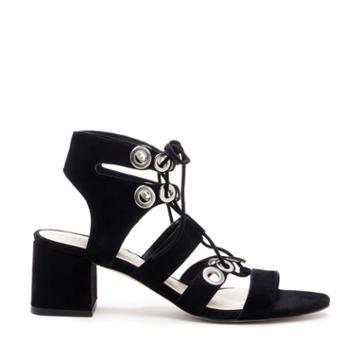 Sole Society Sole Society Rosemary Block Heel Sandal - Black-5