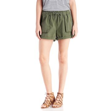 Scotch & Soda Scotch & Soda Canvas Cargo Short - Army