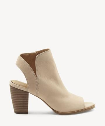 Lucky Brand Lucky Brand Women's Jubai Peep Toe Sandals Nougat Size 5 Leather From Sole Society