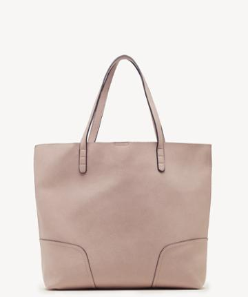 Sole Society Women's Lilyn Tote Vegan Powder Blush Vegan Leather From Sole Society