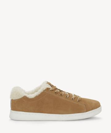 Ed Ellen Degeneres Ed Ellen Degeneres Women's Chaska Flats Sneakers Stonewash Size 5 Suede/leather From Sole Society