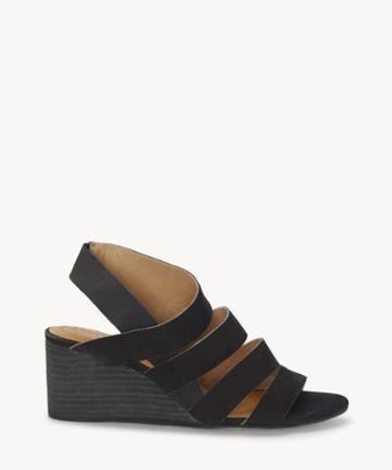Cc Corso Como Cc Corso Como Women's Ontariss Wedges Sandals Black Size 10 Leather From Sole Society