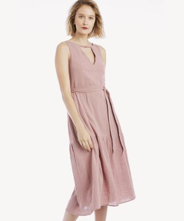 Rachel Pally Rachel Pally Gauze Lanna Dress Mauve Size Extra Small From Sole Society