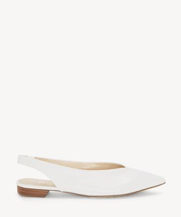 Vince Camuto Vince Camuto Women's Maltida Slingback Flats Pure Size 5 Suede From Sole Society
