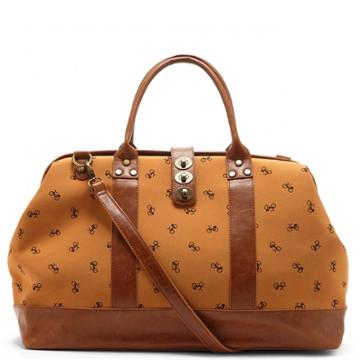 Sole Society Sole Society Mckinley Printed Weekender - Brown-one Size
