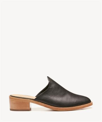 Soludos Soludos Women's Venetian Mules Bootie Black Size 6 Leather From Sole Society