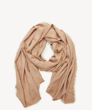 Sole Society Women's Raw Edge Scarf Camel From Sole Society