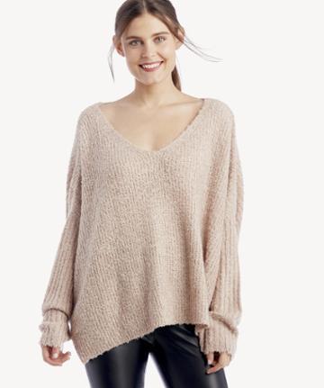 Lost + Wander Lost + Wander Women's Wild Heart Sweater Blush Size Xs/s From Sole Society