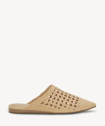 Lucky Brand Lucky Brand Women's Baylint Woven Flats Buff Size 5 Leather From Sole Society