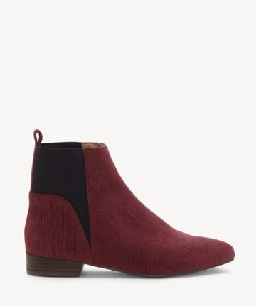 Lucky Brand Lucky Brand Women's Gledo Flats Bootie Light Raisin Size 10 Suede From Sole Society