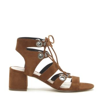 Sole Society Sole Society Rosemary Block Heel Sandal - Cognac-5