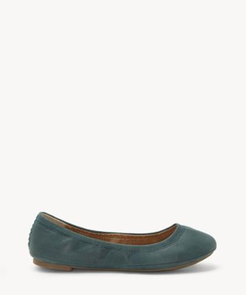 Lucky Brand Lucky Brand Women's Emmie Foldable Ballet Flats Light Kelp Size 6 Fabric From Sole Society