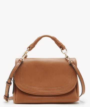 Sole Society Women's Rubie Crossbody Vegan Bag Cognac Vegan Leather From Sole Society