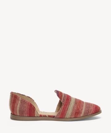 Lucky Brand Lucky Brand Women's Jinree Flats Burgundy Size 5 Suede Leather From Sole Society