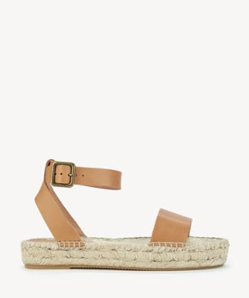Soludos Soludos Women's Cadiz Sandals Espadrille Nude Size 6 Leather From Sole Society