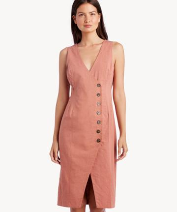 Astr Astr Women's Demi Dress In Color: Mauve Size Xs From Sole Society