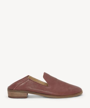 Lucky Brand Lucky Brand Women's Cahill Convertible Back Loafers Burgundy Size 5 Leather From Sole Society