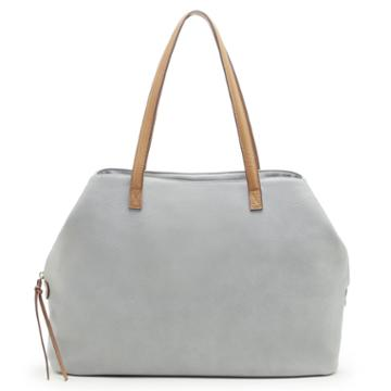 Sole Society Sole Society Miller Oversize Tote - Grey