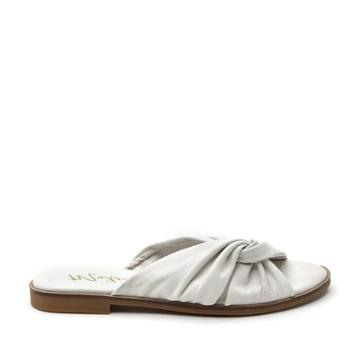 Matisse Matisse Relax Washed Leather Sandal - Ivory