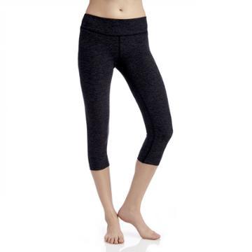 Beyond Yoga Beyond Yoga Spacedye Capri Legging - Black Steel-small