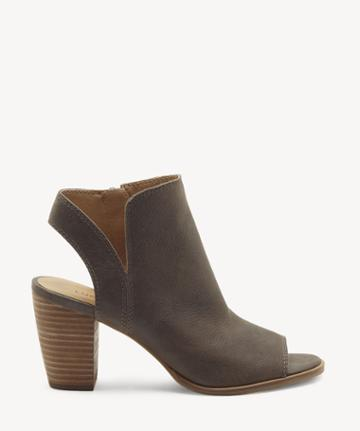 Lucky Brand Lucky Brand Women's Jubai Peep Toe Sandals Periscope Size 5 Leather From Sole Society