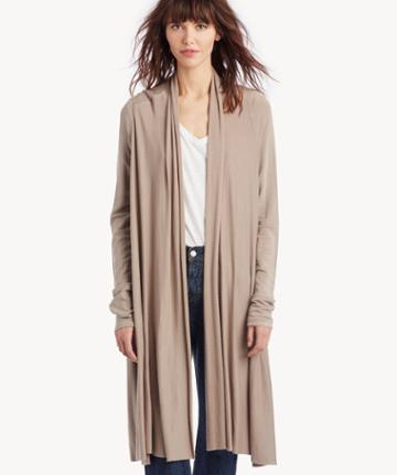 La Made La Made Women's Waterfall Cardigan In Color: Moonrock Size Xs From Sole Society