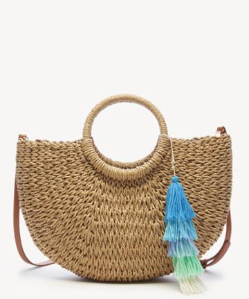 Sole Society Sole Society Jahna Tote Basket Tote - Natural-one Size