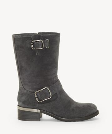 Vince Camuto Vince Camuto Women's Wantilla Buckle Boots Granite Peak Size 5 Leather From Sole Society