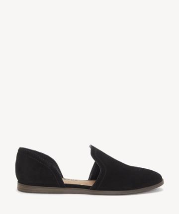 Lucky Brand Lucky Brand Women's Jinree Flats Black Size 5 Suede Leather From Sole Society
