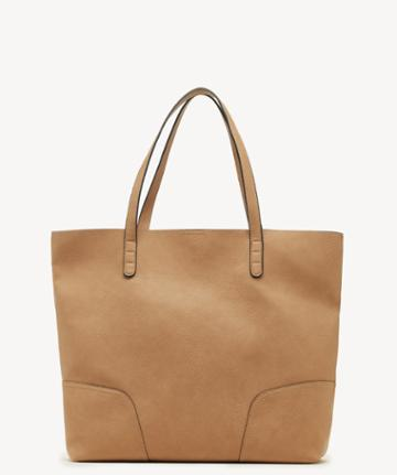 Sole Society Women's Lilyn Tote Vegan Camel Vegan Leather From Sole Society