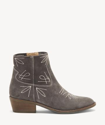 Lucky Brand Lucky Brand Women's Floriniah Ankle Bootie Periscope Size 5 Suede Leather From Sole Society