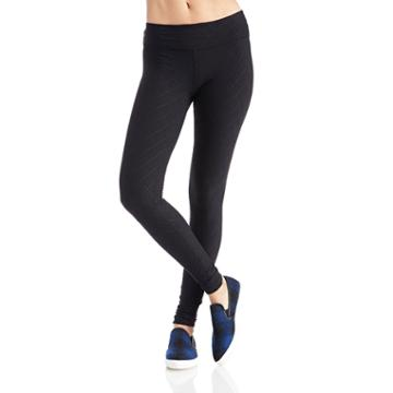 Beyond Yoga Beyond Yoga Quilted Essential Long Legging - Black
