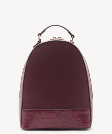 Sole Society Women's Jamya Backpack Vegan Berry One Size Vegan Leather From Sole Society
