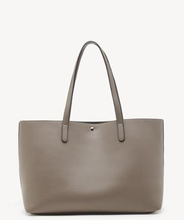 Sole Society Women's Zeda Tote Vegan Taupe Vegan Leather From Sole Society
