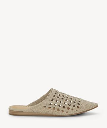 Lucky Brand Lucky Brand Women's Baylint Woven Flats Roasted Cashew Size 5 Leather From Sole Society