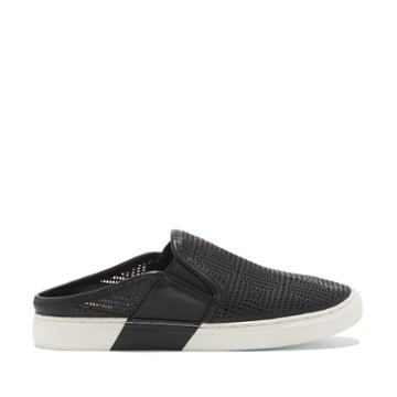 Vince Camuto Vince Camuto Bretta Perforated Mule Sneakr - Black-5