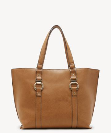 Sole Society Women's Marah Tote Vegan Camel Vegan Leather From Sole Society