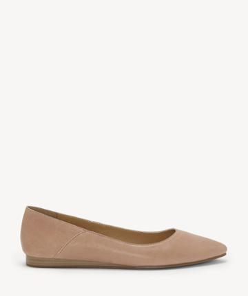 Lucky Brand Lucky Brand Women's Bylando Pointed Toe Flats Bijou Size 7 Leather From Sole Society